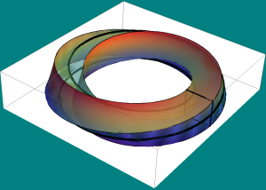 twisted I-bundle over the mobius strip